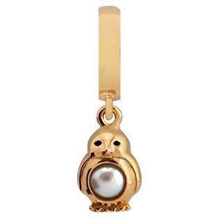 Christina Collect Penguin gold pendant