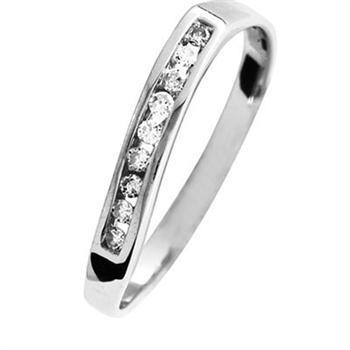 "Diamond Eternity Ring ""With a Twist"""
