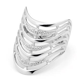 Seven Wishes White gold Ring with Diamonds