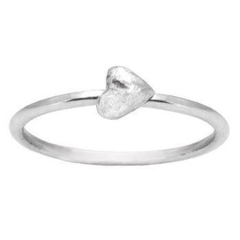 Zöl 55411100, Silver ring with a heart