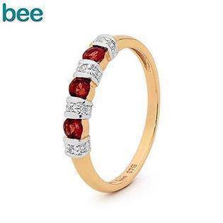 Bee Jewelry Ring, model 25050-GT