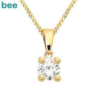 Bee Jewelry Solitaire 0,20 ct H-SI Pendant, model 60985_A20