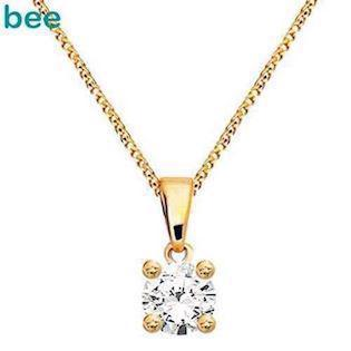 Bee Jewelry Solitaire 0,25 ct H-SI Pendant, model 60985_A25