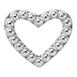 Christina Collect Heart Dots silver ring