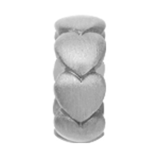Christina Collect Heart silver ring
