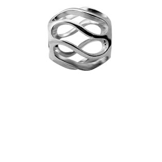 Christina Collect Twist silver ring