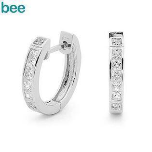 Bee Jewelry Earring, model 35508/cz