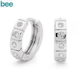 Bee Jewelry Earring, model 35512/cz