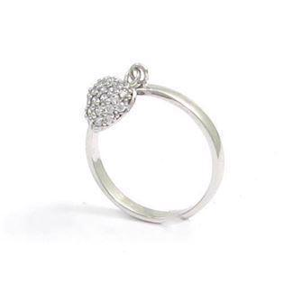 14 ct loose heart ring